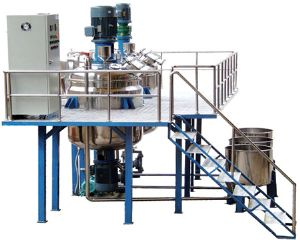 water-based paint production line